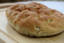 Foccacia bread at the Bramley Village Bakery