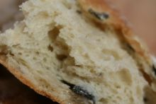 Olive bread at the Bramley Village Bakery